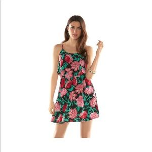 Elle floral tiered dress NWT